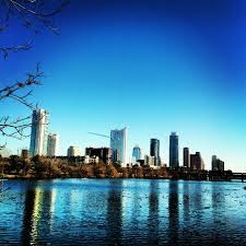 100 Austin City View Of Downtown From Lou Neff Point At Lady Bird Lake 21