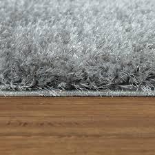 hochflor teppich 3 d muster grau