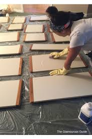 Thermofoil Cabinet Doors Peeling by Best 25 Laminate Cabinet Makeover Ideas On Pinterest Painting