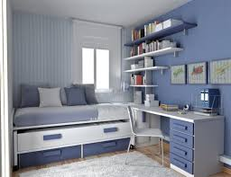 Best Sample Bedroom Furniture For Small Room Blue Colored Interior Ideas Rectangular