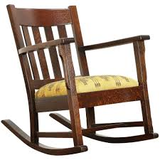 Arts & Crafts Mission Oak Antique Rocker, Tall Craftsman Rocking Chair  #30354 Modern Baby Girl Nursery Ideas Solid Wood Rocking Chair Cherry Slab Seat Sewing Rocker Or And 50 Similar Items Pin By Cannons Online Auctions Llc On Cherry Wood Amish Bentwood Rocking Chair Augustinathetfordco Windsor Mfg Harden Stickley Mission Catalog At Sheffield Fniture Interiors Wooden Rocker Rinomaza Design Childrens Thebookaholicco Wooden Chairs New