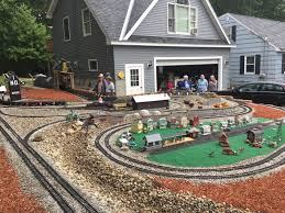 Maine Garden Railway Society ~ Member Blog: Layout Visit To The ... Huge Freight Train Gets Inside A Backyard Muscle Cars Zone Carolwood Pacific And Other Railroads Imageering Disney Astonishing Private Model Railroad In German Youtube S L Shortline Youtube Ideas Grizzly Flats Railroad Nthe Emma Nevada Locomotive Passenger Railroad 7 14 Zoll Gartenbahn Large Scale Wwwgpdtoytrainmuseumcom Riverside Mans Personal Set Of Mini Trains On Track For Memorial Shandon By Diamond Car Works Hydraulic Locomotive Build Tips My Centralia Garden Farm Outdoors Pinterest Gardens In