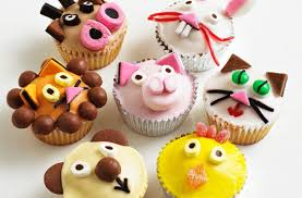 Animal Fairy Cakes Recipe