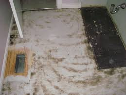 Mastic Tile Adhesive Remover by Cleaning How Was This Subfloor Cleaned Home Improvement Stack