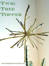 Vintage Button Garland And Rustic Tree Topper