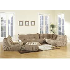 Poundex Bobkona Atlantic Sectional Sofa by Amazon Small Sectional Sofas Best Home Furniture Decoration