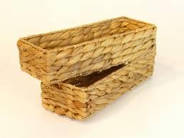 3er wenko korb set bambus braun brot küchen bad kosmetik