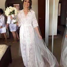 Lace Bridal Robe Bridesmaid Robes Robe Bridal Robe Bride