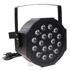 4pcs 18W LED DJ Par Can Lights DMX Disco Par Lamp TheLAShop