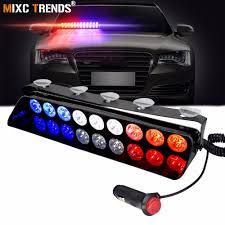 100 Strobe Light For Trucks Police Dash 12V Vehicle Emergency Flashers Windshield