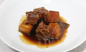 cuisine chinoise porc de porc au caramel chinois par alain ducasse