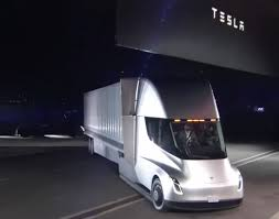 Tesla Truck Attracts Crowd At JB Hunt Home Office