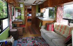 Our New RV Living Area