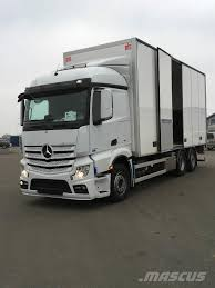 Used Mercedes-Benz ACTROS 2551 Box Trucks Year: 2016 Price: US ...