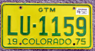 Colorado Truck License Plate | Automobile License Plate Store ...