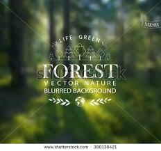 Vector Abstract Background For Design Ecology Label Eco Forest Wood