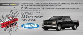 Chevrolet Silverado For Sale Near Fargo | Puklich Chevrolet Buick GMC
