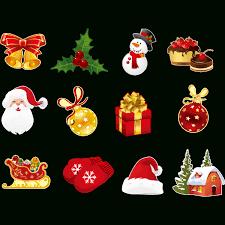 Sticker Noël Les Plaisirs De Noël Stickers Fêtes Stickers Noël