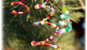 Vibrant Beaded Christmas Tree Ornaments Hand Made For Keeps