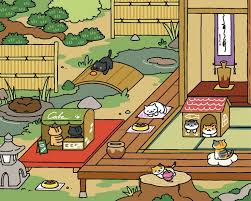 Neko Atsume And Chillin