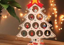 Diy Cartoon Wooden Christmas Tree Decoration Gift Ornament Ideas Of Suppliers