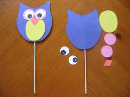 Owl Paper Craft Template