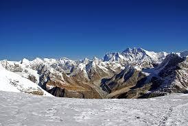 mountain ranges of himalayas the himalaya
