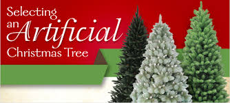 Selecting An Artifical Christmas Tree At MenardsR
