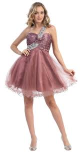 special sale one shoulder cocktail party junior prom dress