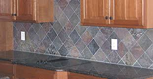 a ceramic tile backsplash can add style and flair to any kitchen
