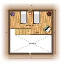 30 X 30 With Loft Floor Plans by Log Home Floor Plans American Log Homes Floor Plan The Missouri