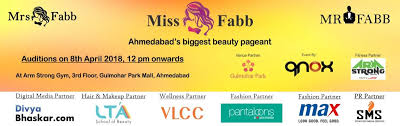 Book Online Tickets For Miss Mrs Mr Fabb Ahmedabad Auditions Audition