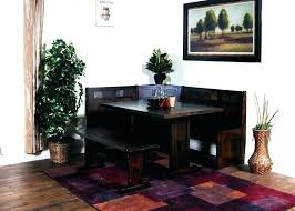 Dining Room Table Bench Dimensions Round For 8 Plans With Leaves Kitchen Booth Seating Sale Cool S