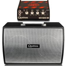 Empty 1x10 Guitar Cabinet by Quilter Labs Bass Block 800 Amplifier W Bassliner 2x10 Wedge