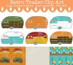 Popular Items For Camper Clip Art