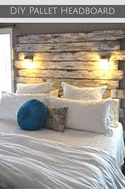 DIY Wood Pallet Headboards And Other Projects Ideas Very Cool Idea