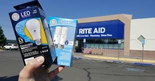 rite aid ge light bulbs only 99â regularly 8 â no coupons