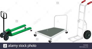 100 Hand Truck Vs Dolly An Illustration Of Warehouse Or Construction Equipment