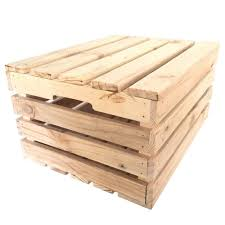 Wood Crates With Lid Large Tall