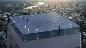 100 Infinity Swimming Worlds First 360degree Infinity Pool Set To Be Built On A London