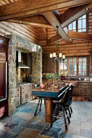 Log Cabin Kitchen Decorating Ideas by Best 25 Cabin Kitchens Ideas On Pinterest Log Cabin Kitchens