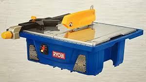 Ryobi Tile Saw Water Pump by Ryobi Ws721 3 4 Hp 7 In Wet Tile Saw Power Tile Saws Amazon Com