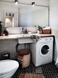 View In Gallery Small And Colorful Laundry Room All