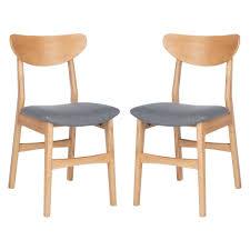 Shop Safavieh Lucca Retro Dining Chair (Set Of 2) - 17.3
