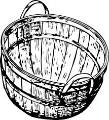 Bushel Basket Clip Art At Clker