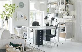 arbeitsecke im wohnzimmer einrichten tipps tricks ikea
