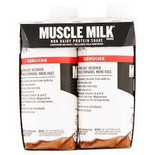 Shake Dem Halloween Bones Book by Genuine Muscle Milk Nutritional Chocolate Shake 4 Ct 44 Fl Oz