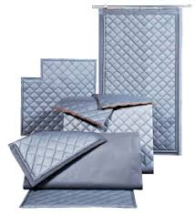Sound Reduction Curtains Uk by Quilted Curtains For Soundproofing And Noise Control Industrial