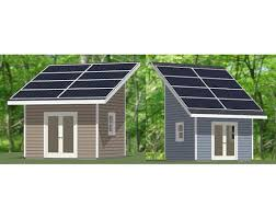 12x12 Shed Plans Pdf by The Solar Panels Add A Multi Seasonal Dimension To The Structure