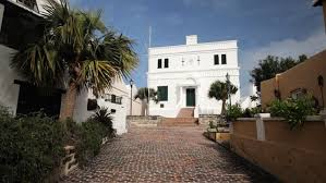Bermudas First Stone Building The State House Built In 1620 St Georges